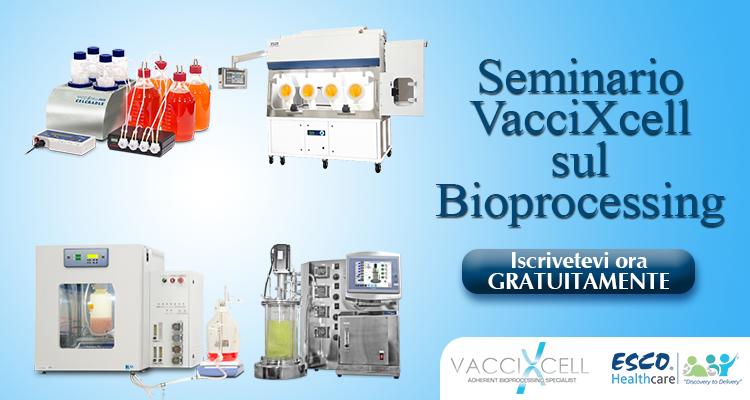 Seminario sul Bioprocessing VacciXcell