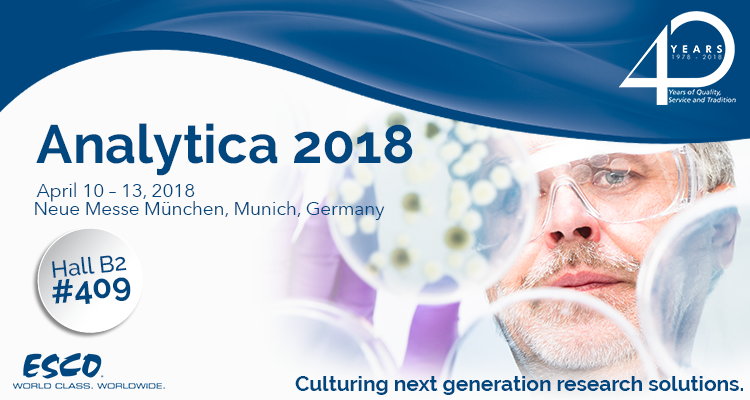 Esco at Analytica 2018