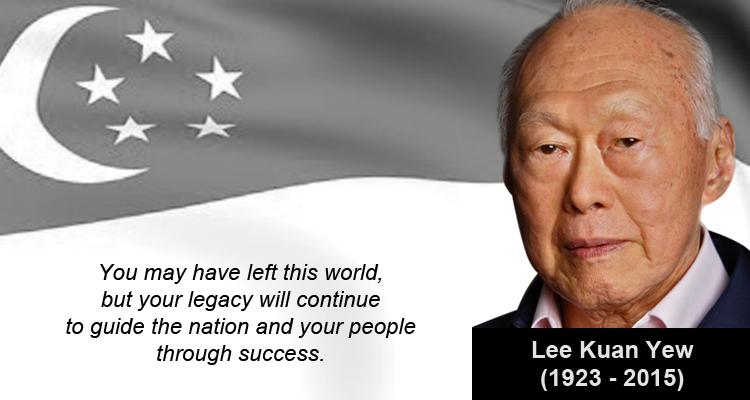 Salute to Lee Kuan Yew
