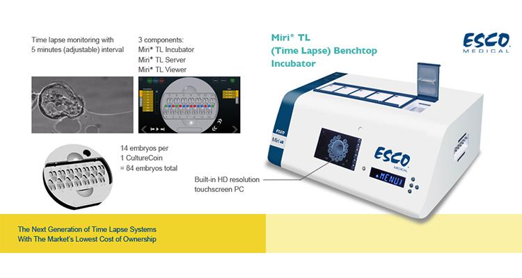 Miri TL Time Lapse Embryo Incubator