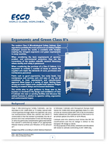 BSC Ergonomic and Green Class II Biological Safety Cabinet