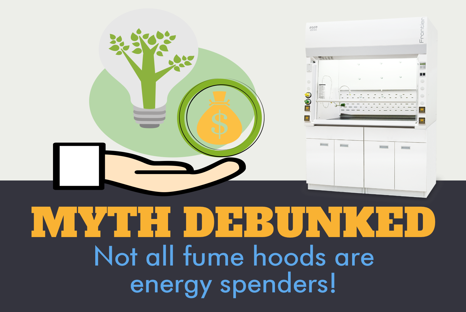 Myth debunked: Not all fume hoods are energy spenders!